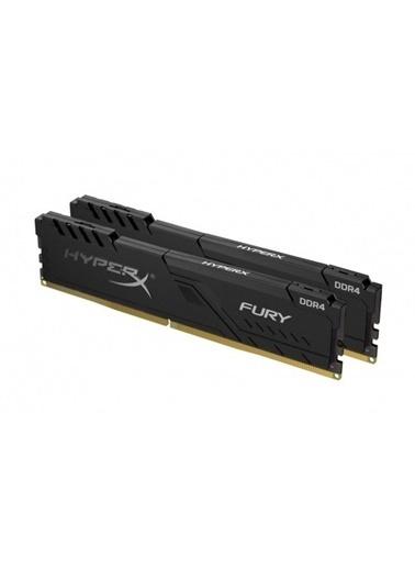 Kingston Hyperx Fury Black 32Gb 3600Mhz Ddr4 Cl17 Dımm (4X8) Gaming Bellek (Hx436C17Fb3K4/32) Renksiz